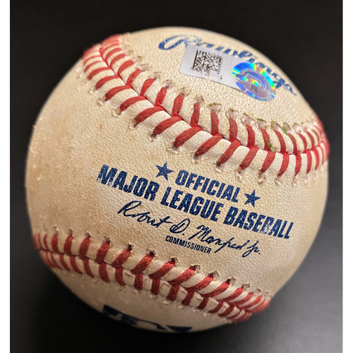 Photo of Game-Used Baseball:  Tim Anderson Chicago White Sox Single (MLB AUTHENTICATED)