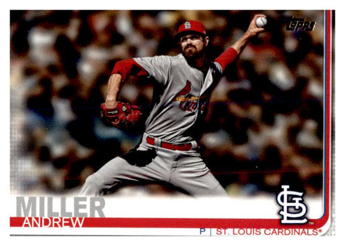 Photo of 2019 Topps Update #US166 Andrew Miller