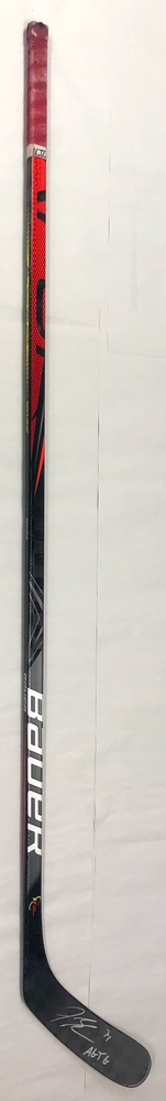 #74 Jaccob Slavin Game Used Stick - Autographed - Carolina Hurricanes