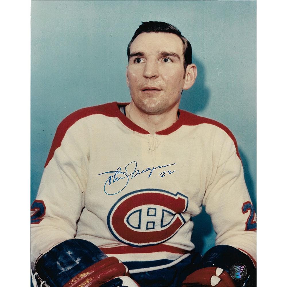 John Ferguson Autographed Montreal Canadiens 8X10 Photo