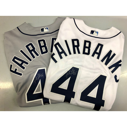Photo of Autographed 2019 Jersey Package: Pete Fairbanks