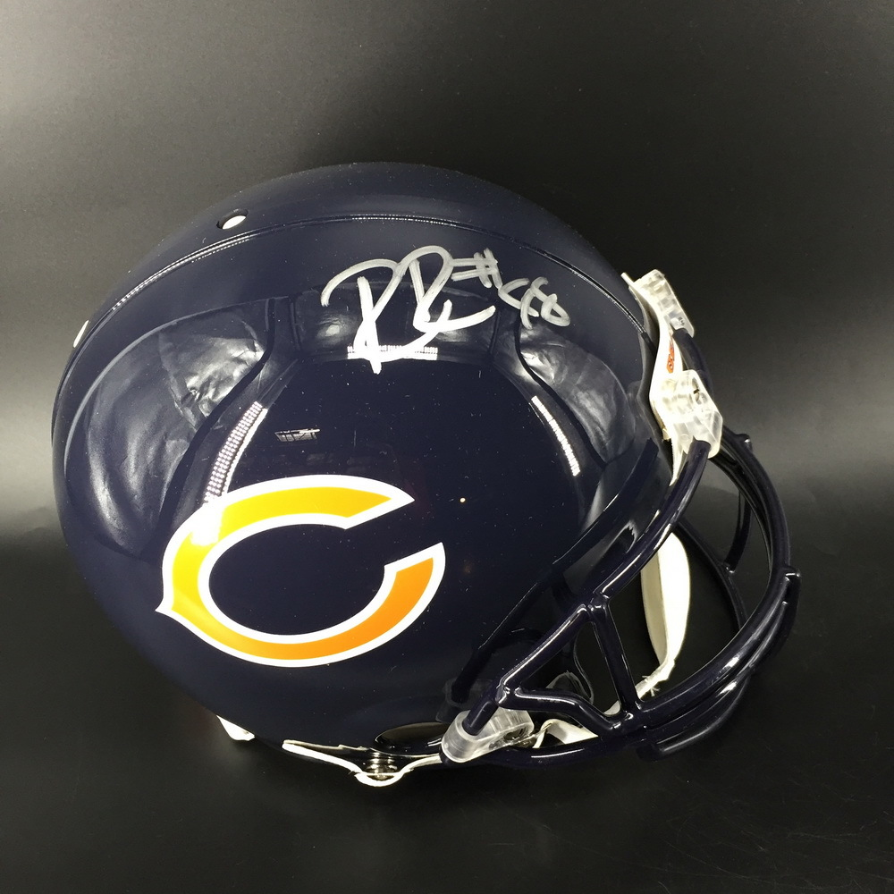 NFL - Bears Ridley Riley Signed Proline Helmet