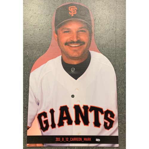 Photo of Giants Community Fund - Celebrity Cutouts - Mark Carreon