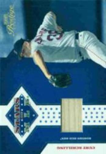 Photo of 2005 Playoff Prestige Stars of MLB Material Bat #6 Curt Schilling/100