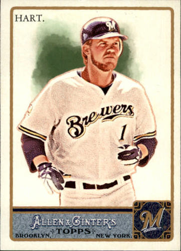Photo of 2011 Topps Allen and Ginter #157 Corey Hart