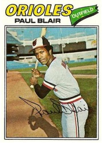 Photo of 1977 Topps #313 Paul Blair