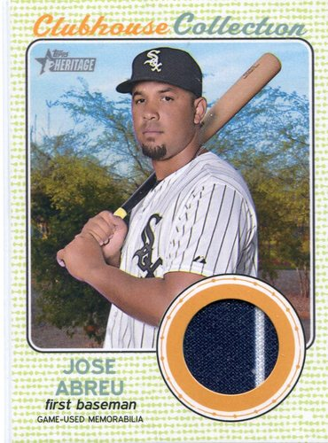 Photo of 2017 Topps Heritage Clubhouse Collection Relics #CCRJAL Jose Altuve