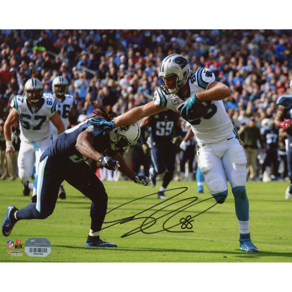 Greg Olsen Carolina Panthers Autographed 8