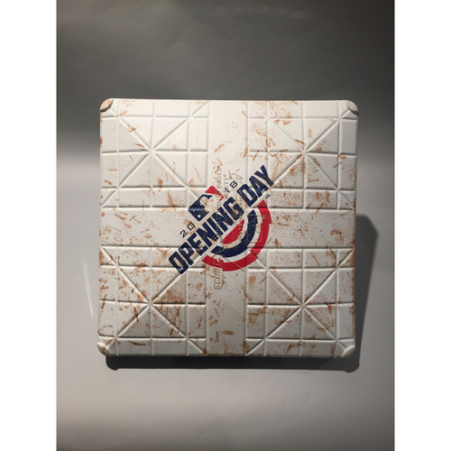 2018 Seattle Mariners Opening Day Base - 2nd Base used 6th-7th innings