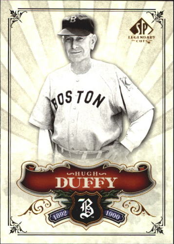 Photo of 2006 SP Legendary Cuts #31 Hugh Duffy-- Hall of Fame Class of 1945