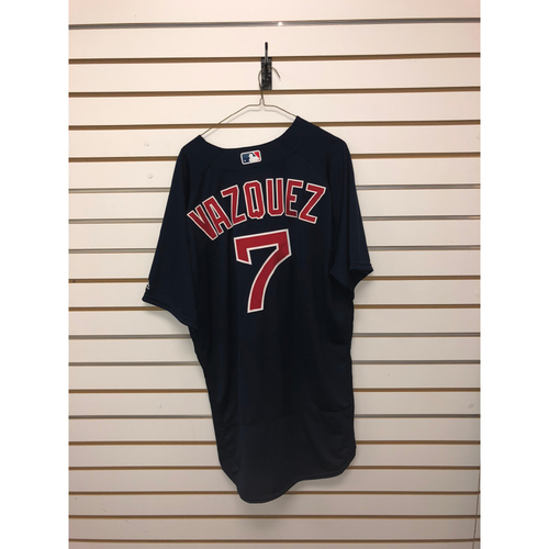 Photo of Christian Vazquez Team-Issued 2016 Road Alternate Jersey