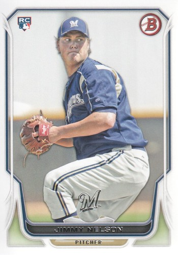 Photo of 2014 Bowman #129 Jimmy Nelson RC