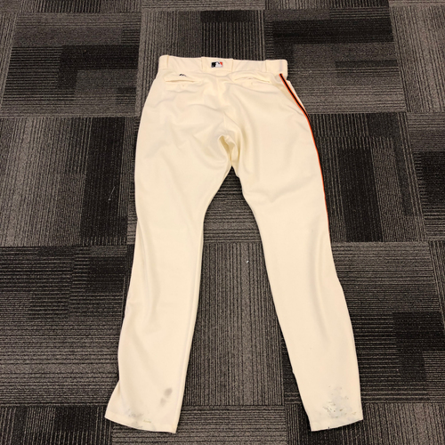 Photo of 2017 Team Issued Home Cream Pants - Size 40-50-40