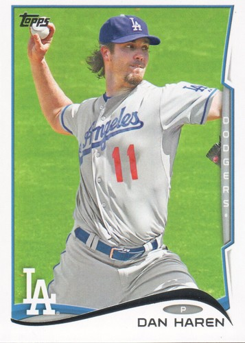 Photo of 2014 Topps #646 Dan Haren