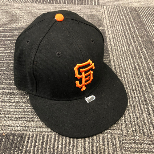 Photo of 2017 Game Used Batting Practice Cap - #62 Cory Gearrin - Size 7 3/8