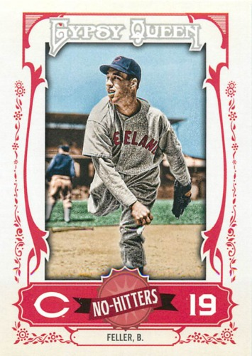 Photo of 2013 Topps Gypsy Queen No Hitters #BF Bob Feller