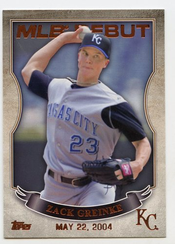 Photo of 2016 Topps MLB Debut Bronze #MLBD2-36 Zack Greinke