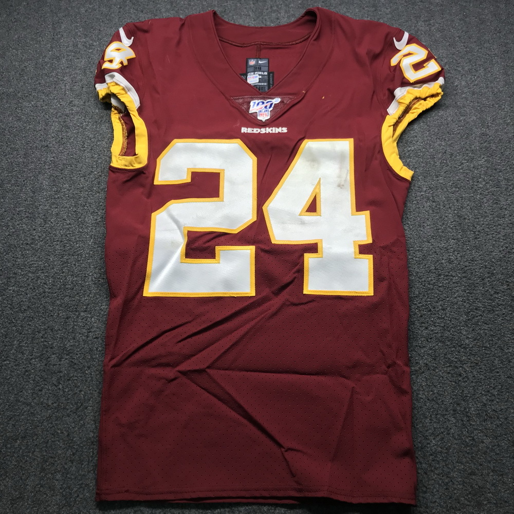 NFL Auction | Crucial Catch - Redskins Josh Norman Game Used ...