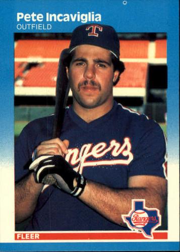 Photo of 1987 Fleer #128 Pete Incaviglia RC
