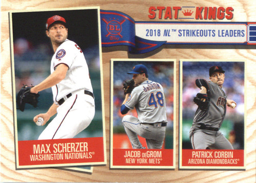 Photo of 2019 Topps Big League #366 Patrick Corbin/Max Scherzer/Jacob deGrom