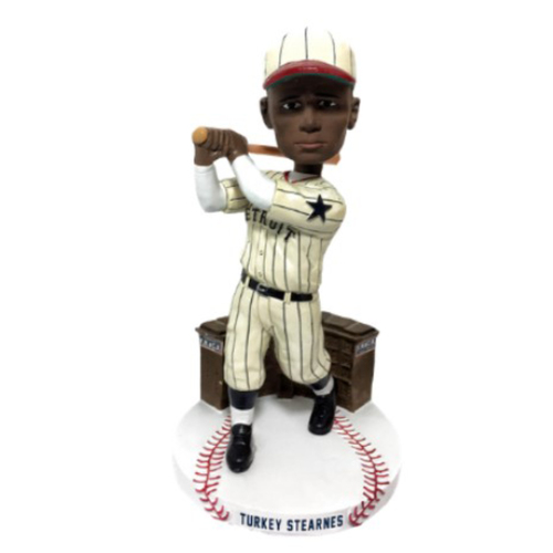 "Photo of NEGRO LEAGUES CENTENNIAL TEAM BOBBLEHEAD SERIES: Norman ""Turkey"" Stearnes"