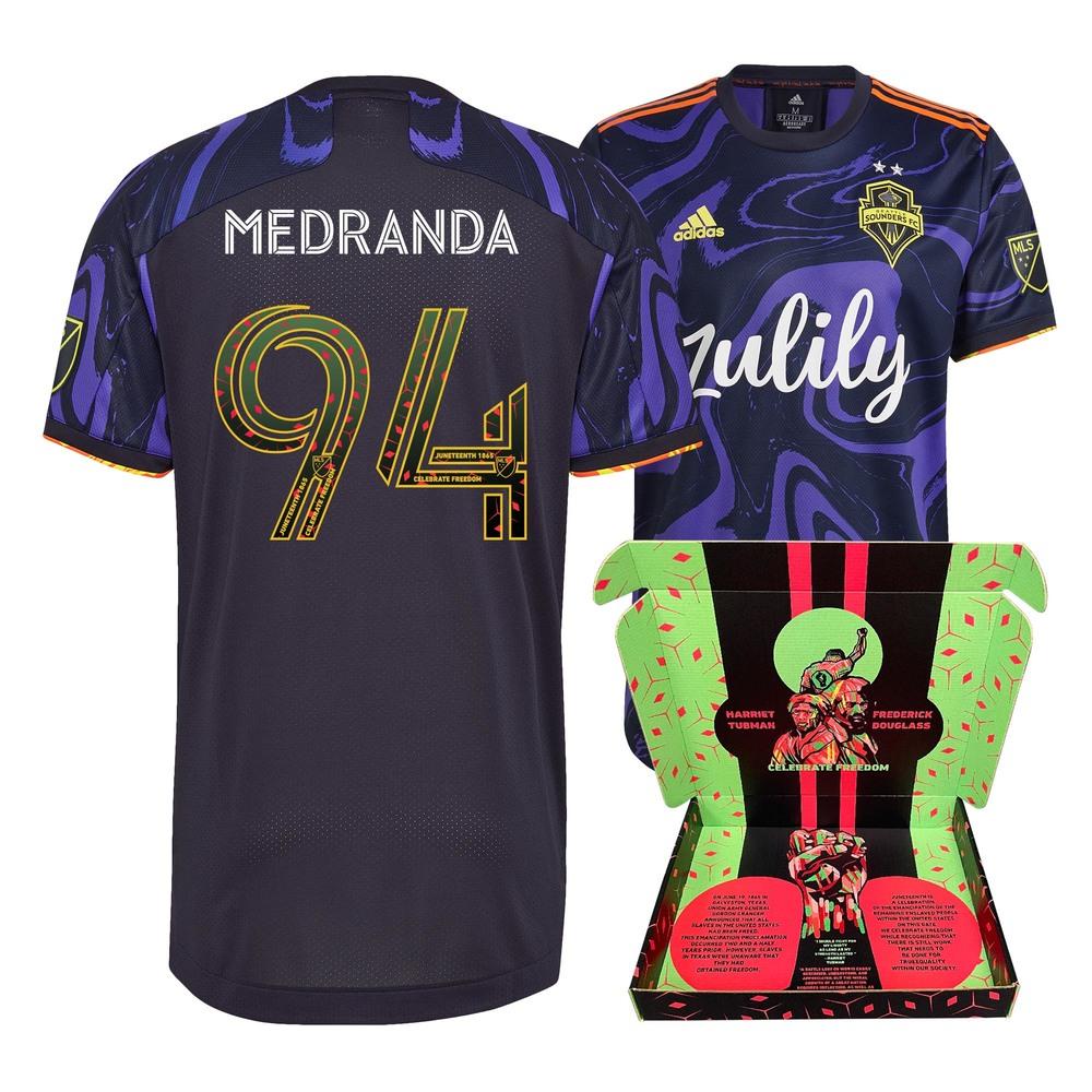 Jimmy Medranda Seattle Sounders FC Match-Used & Signed