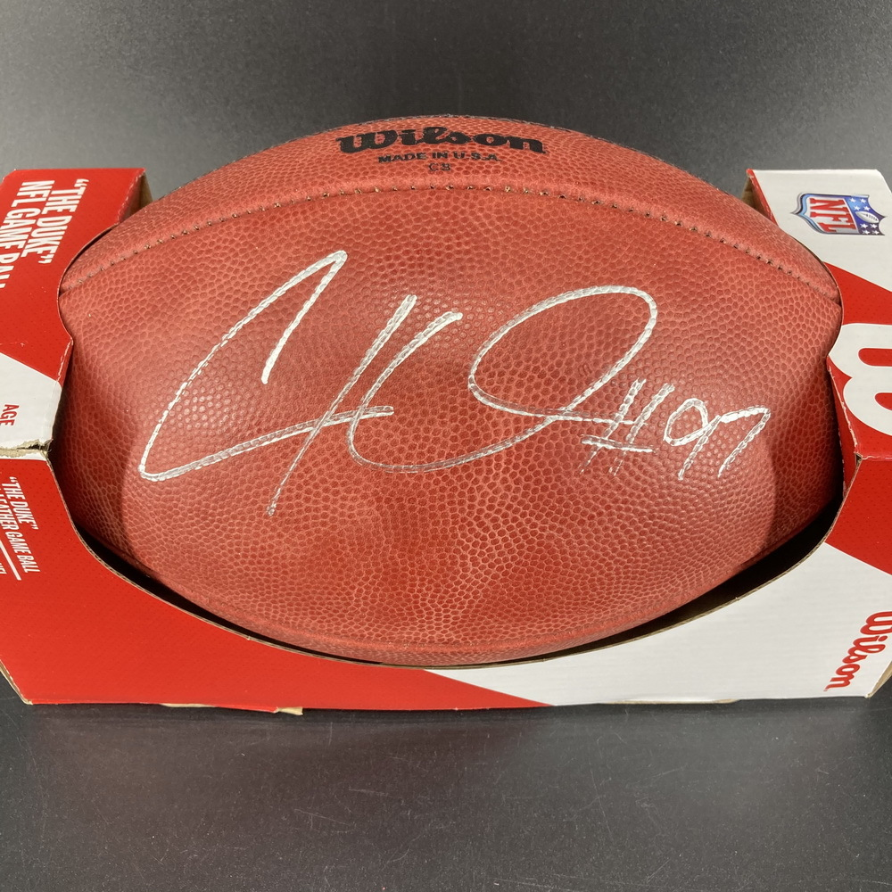 NFL - Steelers Cameron Hayward Signed Authentic Football