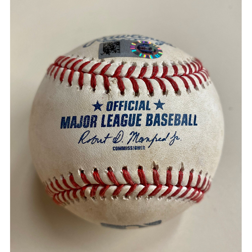 Photo of Game-Used Baseball:  Jo Adell Los Angeles Angels Single (MLB AUTHENTICATED)