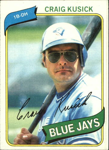 Photo of 1980 Topps #693 Craig Kusick