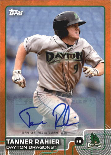Photo of 2015 Topps Pro Debut Autographs Orange #169 Tanner Rahier
