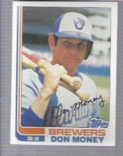 Photo of 1982 Topps #709 Don Money