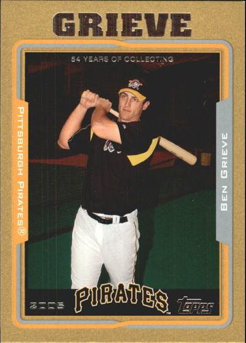 Photo of 2005 Topps Gold #594 Ben Grieve