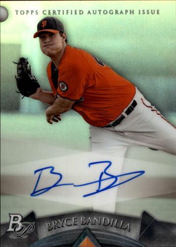 Photo of 2014 Bowman Platinum Prospect Autographs #APBB Bryce Bandilla