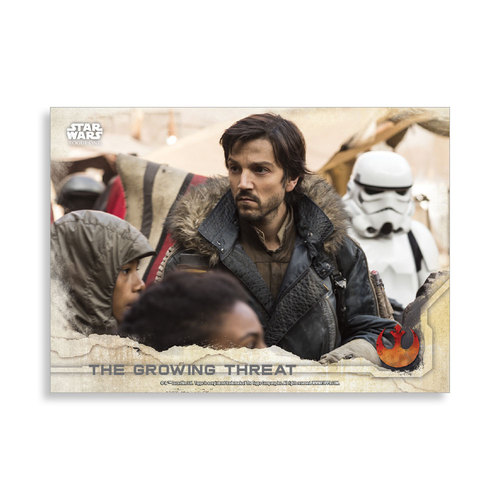 The Growing Threat 2016 Star Wars Rogue One Series One Base Poster - # to 99