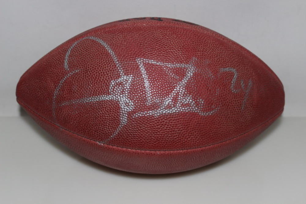 NFL - DELTHA O'NEAL SIGNED AUTHENTIC FOOTBALL