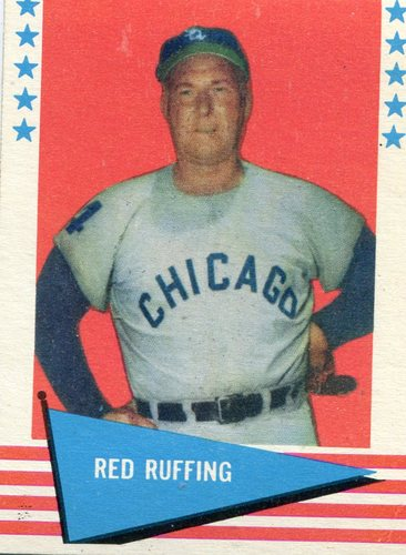 Photo of 1961 Fleer #74 Red Ruffing -- Hall of Fame Class of 1967