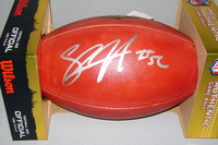 NFL - CHARGERS SHAWNE MERRIMAN SIGNED AUTHENTIC FOOTBALL