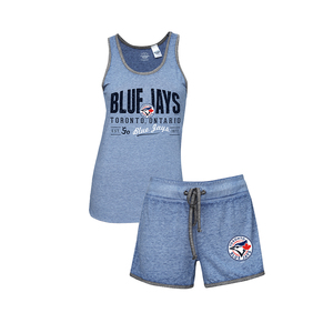 Toronto Blue Jays Women's Tank and Short Set by Concepts Sport