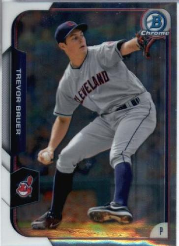 Photo of 2015 Bowman Chrome #62 Trevor Bauer
