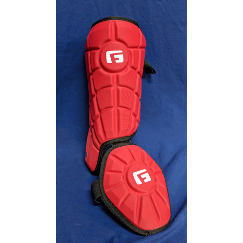 Photo of Los Angeles Angels Team-Issued Shin Guard