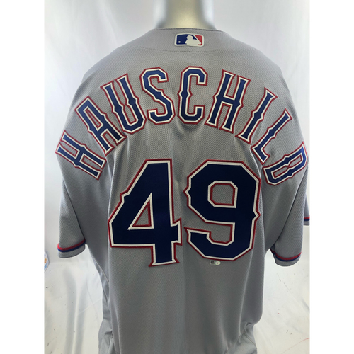 Photo of Grey Team-Issued Jersey - Mike Hauschild