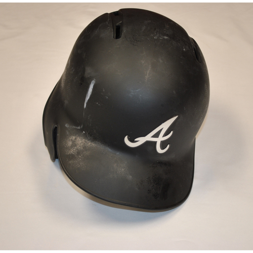 "Photo of Rafael ""ORTEGA"" Ortega Atlanta Braves Game-Used 2019 Players' Weekend Helmet"
