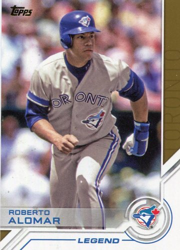 Photo of 2017 Topps Salute #S153 Roberto Alomar