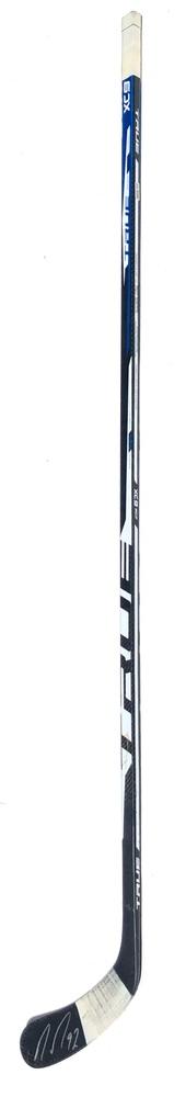 #92 Ryan Johansen Game Used Stick - Autographed - Nashville Predators