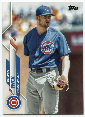 Photo of 2020 Topps #494 Rowan Wick