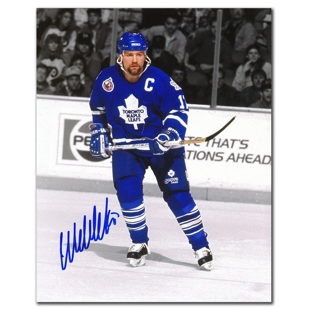 Wendel Clark Toronto Maple Leafs SPOTLIGHT Autographed 8x10