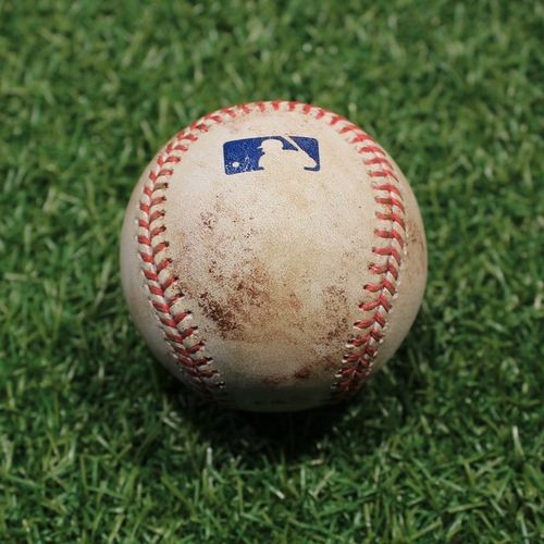 Photo of Game-Used Baseball: Adalberto Mondesi 267th Career Hit, 131st & 132nd Career RBI's (9/24/20 DET @ KC)