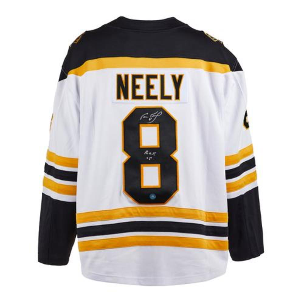 Cam Neely Boston Bruins Autographed White Fanatics Jersey