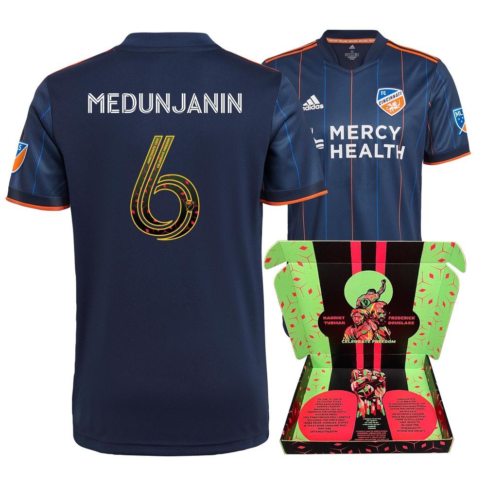 Haris Medunjanin FC Cincinnati Match-Used & Signed