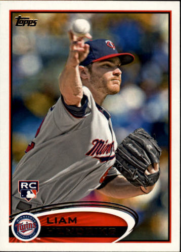Photo of 2012 Topps #81 Liam Hendriks RC